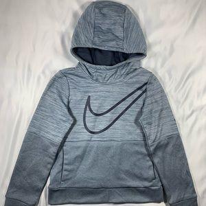 Nike Therma Fit Boy's Grey Hoodie Sweatshirt
